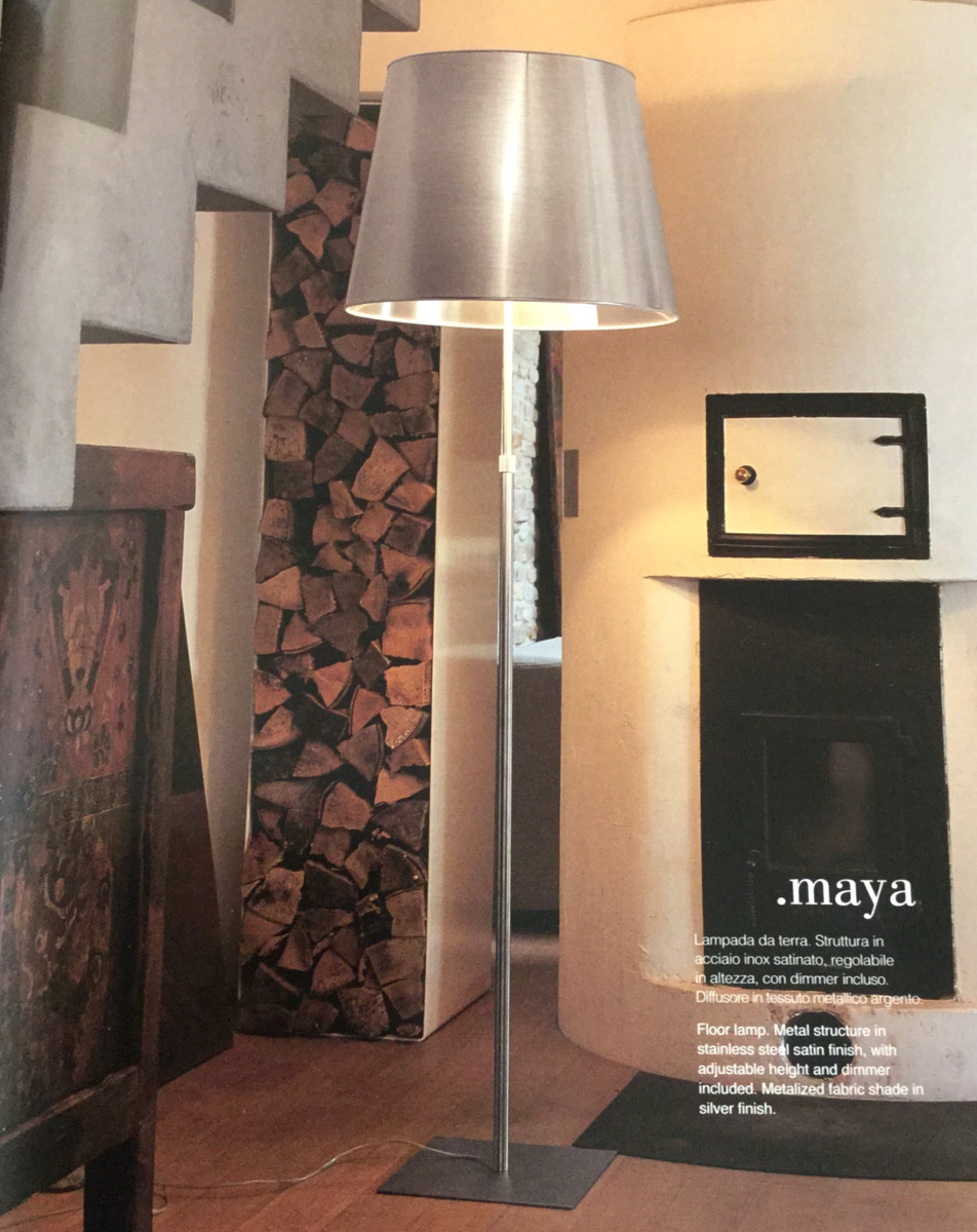 Lampada MOD. MAYA ITAMA By LIGHT 4 Design Massimo Tonetto
